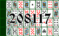 Solitaire №208117
