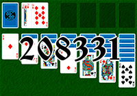 Solitaire №208331