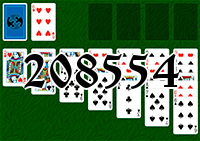 Solitaire №208554