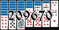 Solitaire №209670