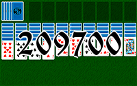 Solitaire №209700