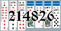 Solitaire №214826
