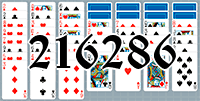 Solitaire №216286