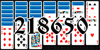 Solitaire №218650