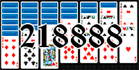 Solitaire №218888