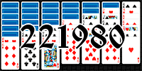 Solitaire №221980