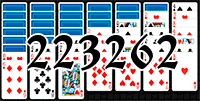 Solitaire №223262