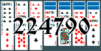 Solitaire №224790