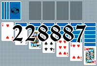 Solitaire №228887