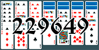 Solitaire №229649