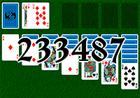 Solitaire №233487
