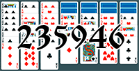 Solitaire №235946