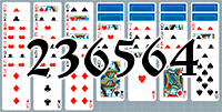 Solitaire №236564