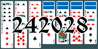 Solitaire №242028
