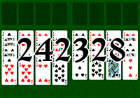 Solitaire №242328
