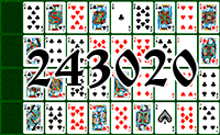 Solitaire №243020
