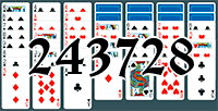Solitaire №243728