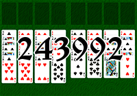 Solitaire №243992