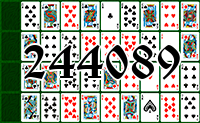 Solitaire №244089