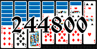 Solitaire №244800