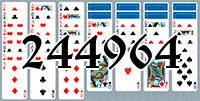 Solitaire №244964