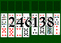 Solitaire №246138
