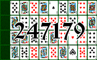 Solitaire №247179