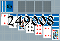Solitaire №249008