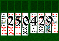 Solitaire №250429