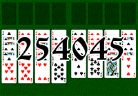 Solitaire №254045