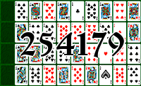 Solitaire №254179
