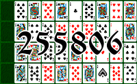 Solitaire №255806