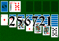 Solitaire №256721