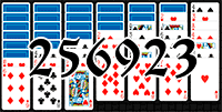 Solitaire №256923