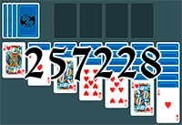 Solitaire №257228