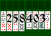 Solitaire №258403