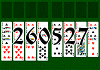 Solitaire №260527