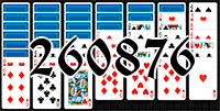 Solitaire №260876