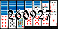 Solitaire №260927