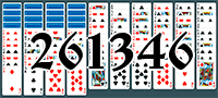 Solitaire №261346