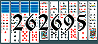 Solitaire №262695