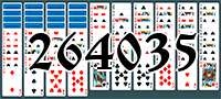 Solitaire №264035