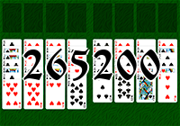 Solitaire №265200