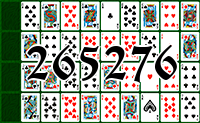 Solitaire №265276