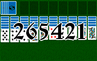 Solitaire №265421