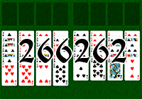 Solitaire №266262