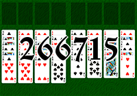 Solitaire №266715