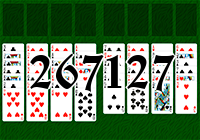 Solitaire №267127