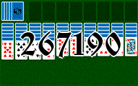 Solitaire №267190