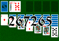Solitaire №267265